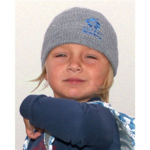 Surfer Baby Knit Waffle-weave Beanie